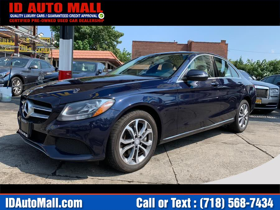 Used Mercedes-benz C-class 4dr Sdn C 300 Luxury 4MATIC 2016 | ID Auto Mall . South Richmond Hill, New York