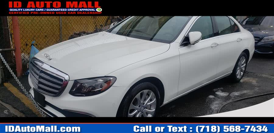 Used 2017 Mercedes-benz E-class in South Richmond Hill, New York | ID Auto Mall . South Richmond Hill, New York