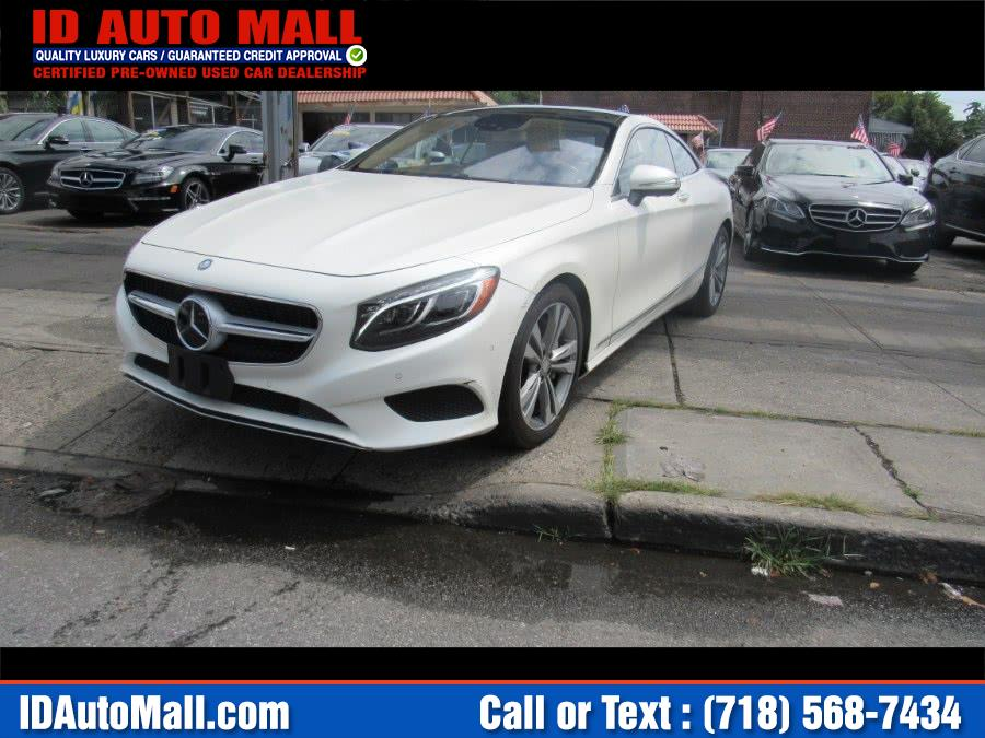 2015 Mercedes-Benz S-Class 2dr Cpe S 550 4MATIC, available for sale in South Richmond Hill, New York | ID Auto Mall . South Richmond Hill, New York