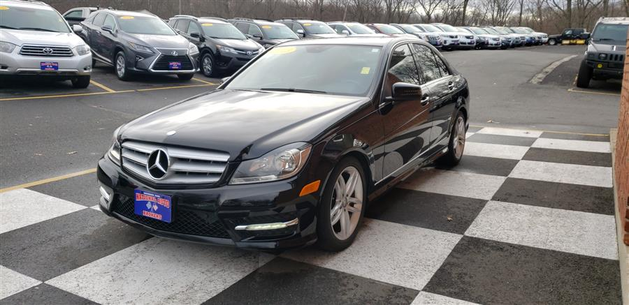 2013 Mercedes-Benz C-Class 4dr Sdn C300 Luxury 4MATIC, available for sale in Waterbury, Connecticut | National Auto Brokers, Inc.. Waterbury, Connecticut