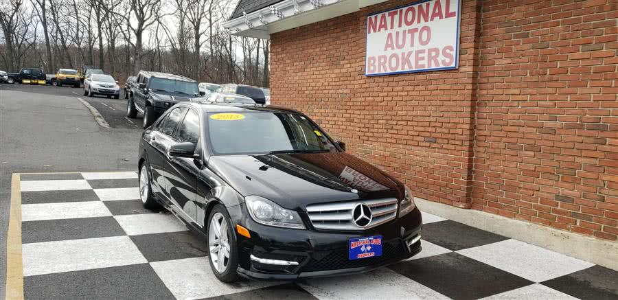 Used Mercedes-Benz C-Class 4dr Sdn C300 Luxury 4MATIC 2013 | National Auto Brokers, Inc.. Waterbury, Connecticut