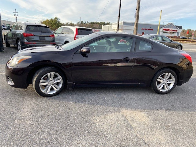 2011 Nissan Altima 2dr Cpe I4 CVT 2.5 S, available for sale in Raynham, Massachusetts | J & A Auto Center. Raynham, Massachusetts
