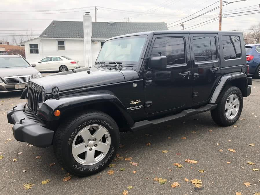 2008 Jeep Wrangler 4WD 4dr Unlimited Sahara, available for sale in Milford, Connecticut | Chip's Auto Sales Inc. Milford, Connecticut