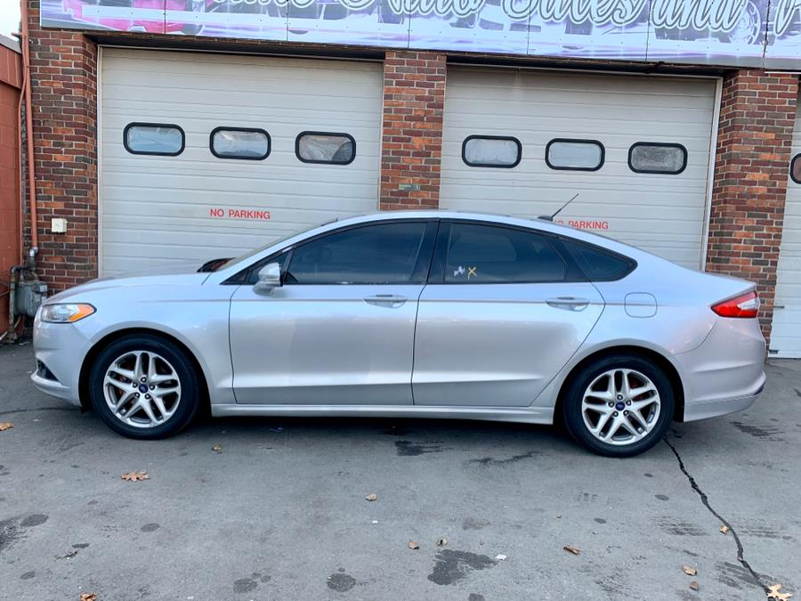 2014 Ford Fusion 4dr Sdn SE FWD, available for sale in New Haven, Connecticut | Primetime Auto Sales and Repair. New Haven, Connecticut