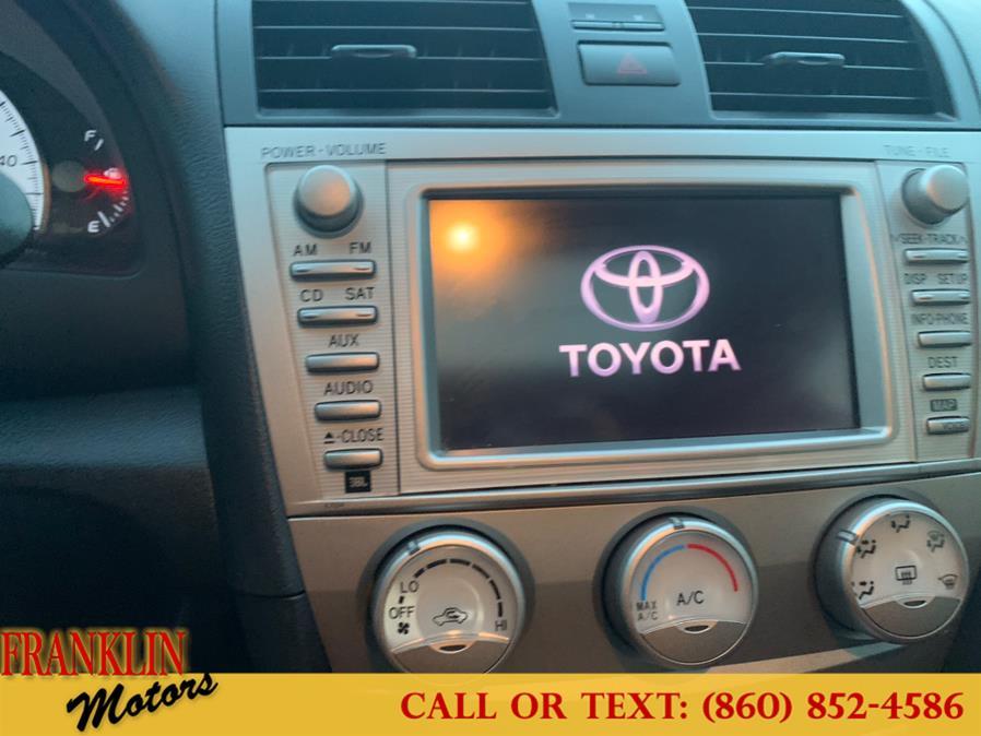 Used Toyota Camry 4dr Sdn V6 Auto SE 2010 | Franklin Motors Auto Sales LLC. Hartford, Connecticut