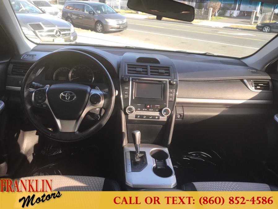 Used Toyota Camry 4dr Sdn I4 Auto SE (Natl) 2012 | Franklin Motors Auto Sales LLC. Hartford, Connecticut