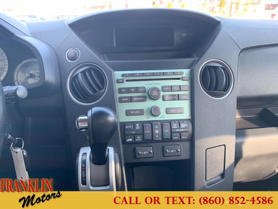 Used Honda Pilot 4WD 4dr EX-L 2011 | Franklin Motors Auto Sales LLC. Hartford, Connecticut