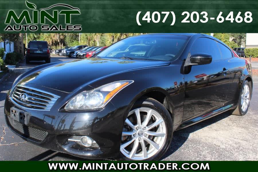 Used 2013 Infiniti G37 in Orlando, Florida   Mint Auto Sales. Orlando, Florida