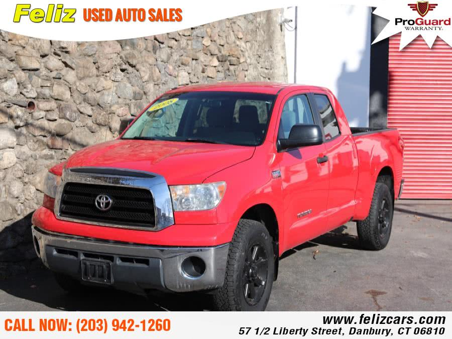 Used 2008 Toyota Tundra 4WD Truck in Danbury, Connecticut | Feliz Used Auto Sales. Danbury, Connecticut