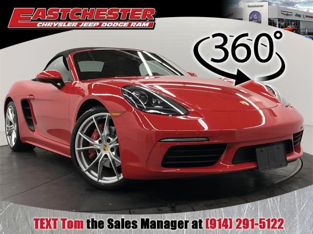 Used 2017 Porsche 718 Boxster in Bronx, New York | Eastchester Motor Cars. Bronx, New York