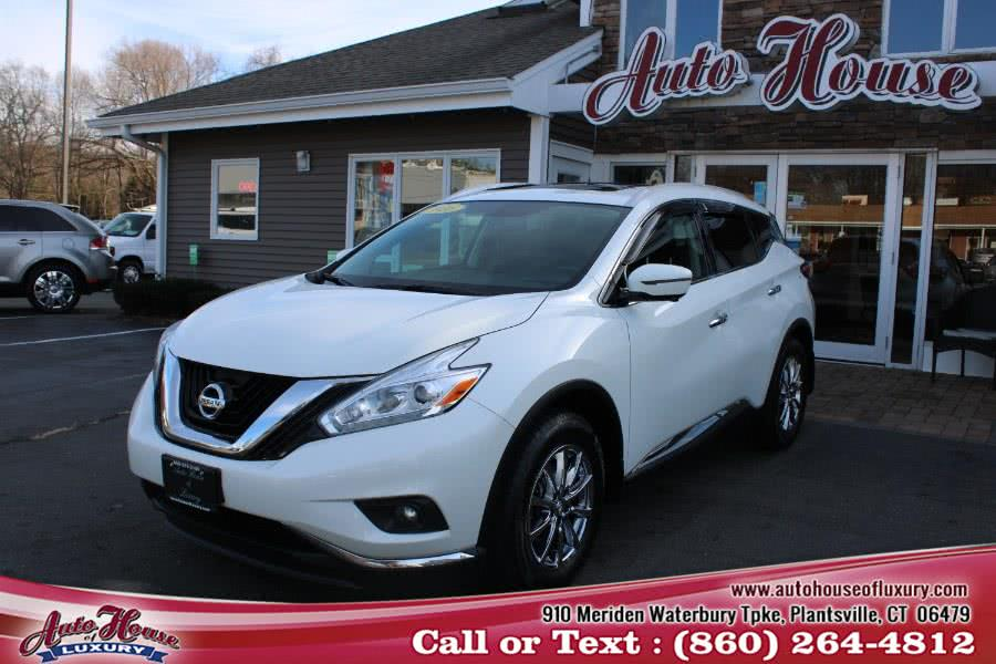Used 2016 Nissan Murano in Plantsville, Connecticut | Auto House of Luxury. Plantsville, Connecticut