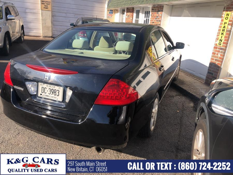 Used Honda Accord Sdn LX SE AT PZEV 2006 | K and G Cars . New Britain, Connecticut