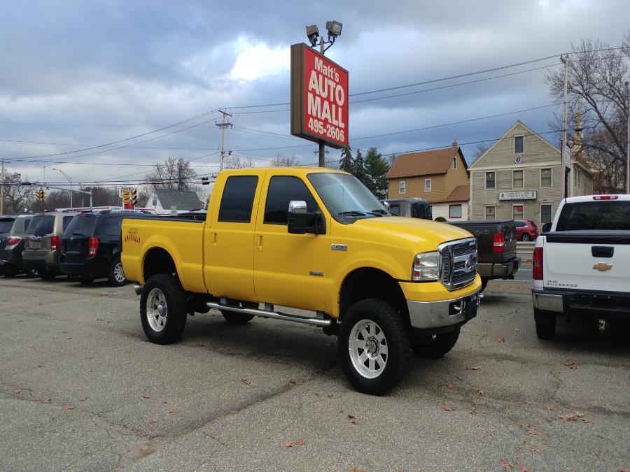 "Used Ford Super Duty F-250 Crew Cab 156"" XLT 4WD 2005   Matts Auto Mall LLC. Chicopee, Massachusetts"