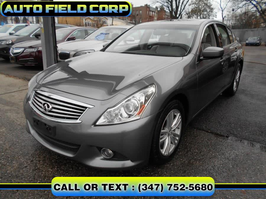 Used 2012 Infiniti G37 Sedan in Jamaica, New York | Auto Field Corp. Jamaica, New York