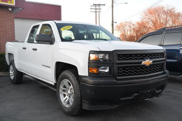Used Chevrolet Silverado 1500 Work Truck 2WT Double Cab 2WD 2014 | Boulevard Motors LLC. New Haven, Connecticut