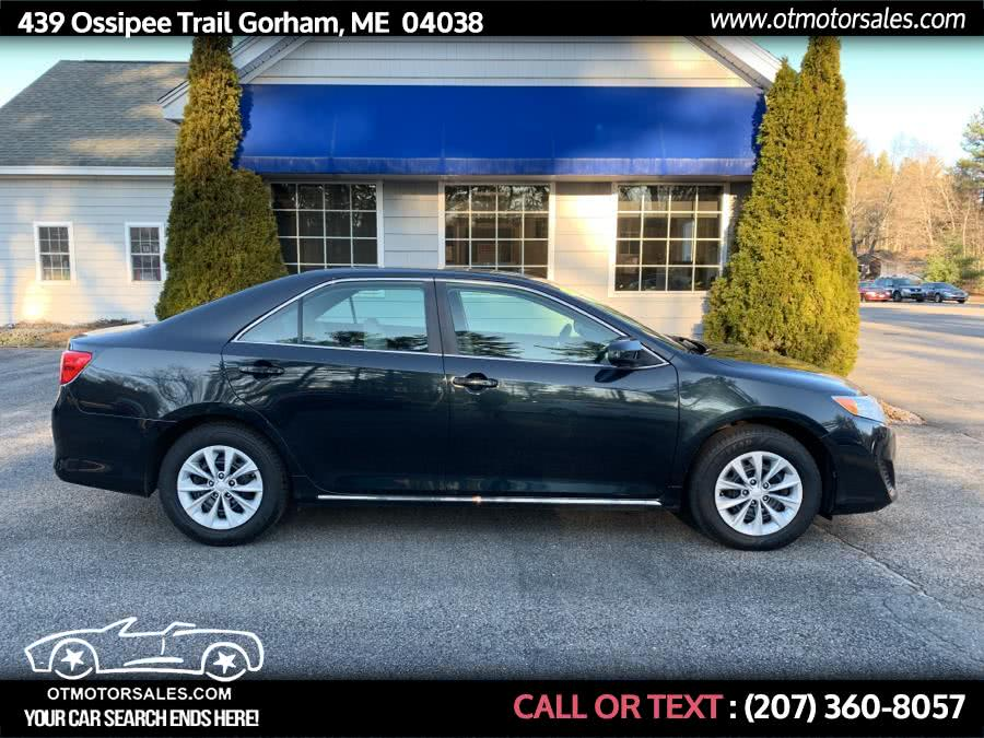 Used 2012 Toyota Camry in Gorham, Maine | Ossipee Trail Motor Sales. Gorham, Maine