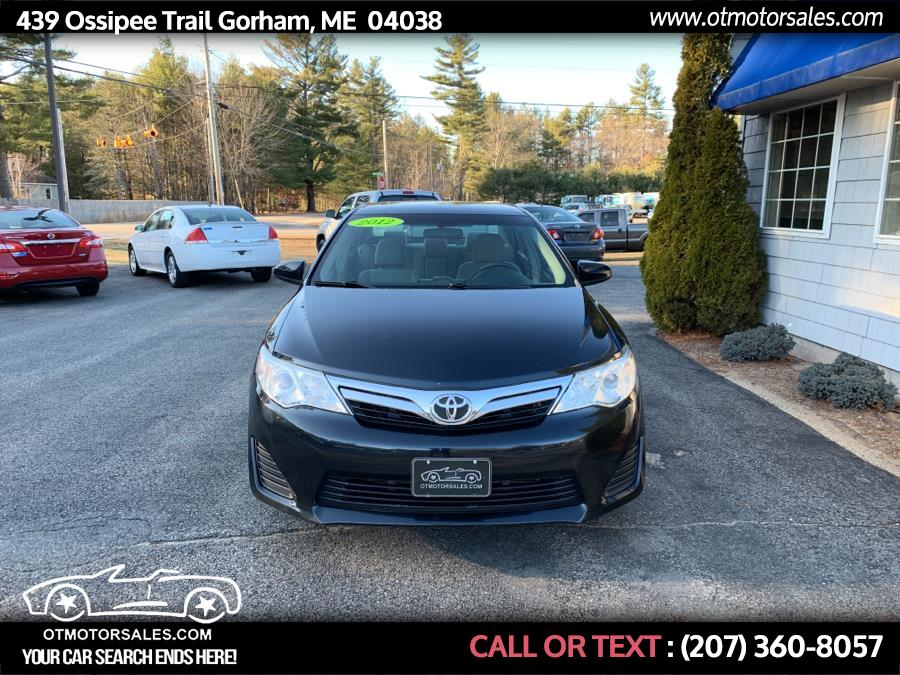 Used Toyota Camry 4D 2012 | Ossipee Trail Motor Sales. Gorham, Maine