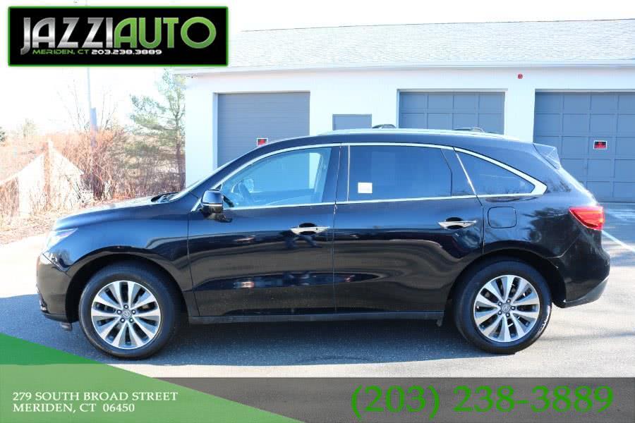 Used Acura MDX SH-AWD 4dr Tech Pkg 2015 | Jazzi Auto Sales LLC. Meriden, Connecticut