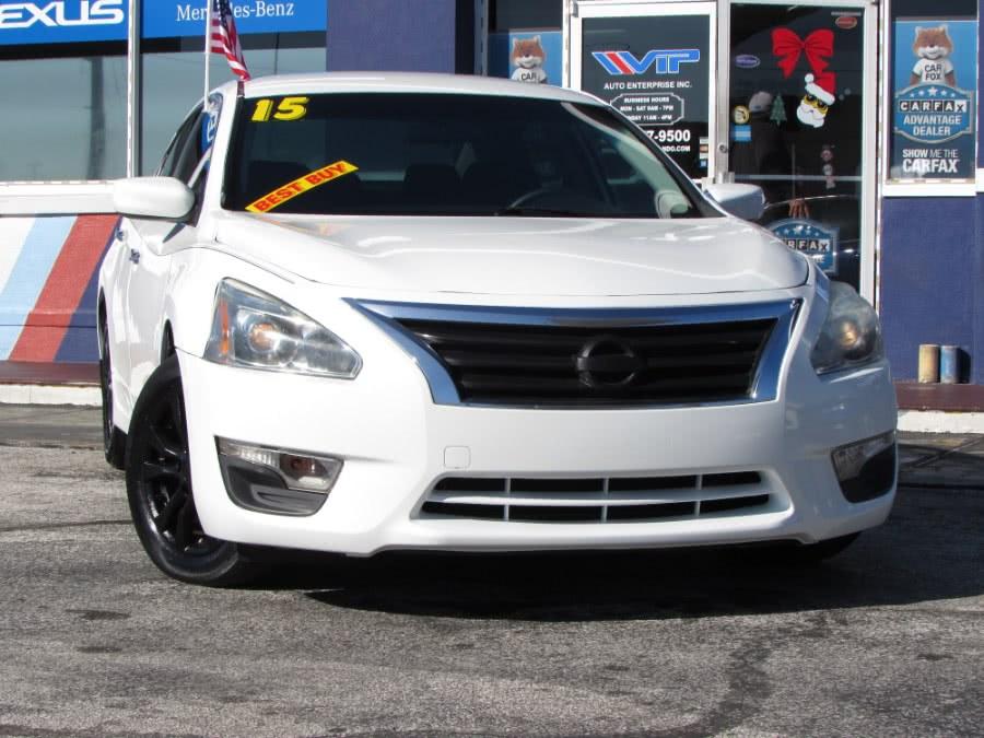 Used Nissan Altima 4dr Sdn I4 2.5 S 2015 | VIP Auto Enterprise, Inc. Orlando, Florida