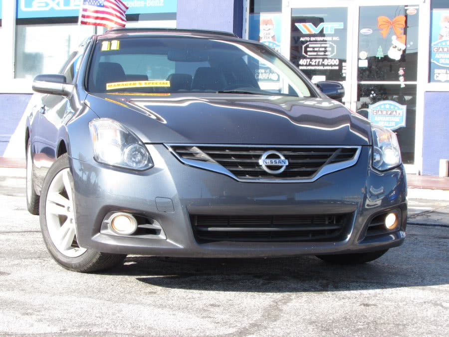 Used Nissan Altima 2dr Cpe I4 CVT 2.5 S 2011 | VIP Auto Enterprise, Inc. Orlando, Florida