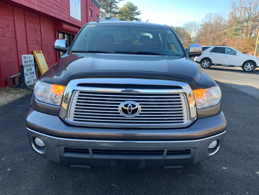 2013 Toyota Tundra 4WD Truck CrewMax 5.7L V8 6-Spd AT Platinum (Natl), available for sale in Hampton, Connecticut | VIP on 6 LLC. Hampton, Connecticut