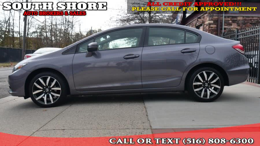 Used Honda Civic Sedan 4dr CVT EX-L 2015 | South Shore Auto Brokers & Sales. Massapequa, New York