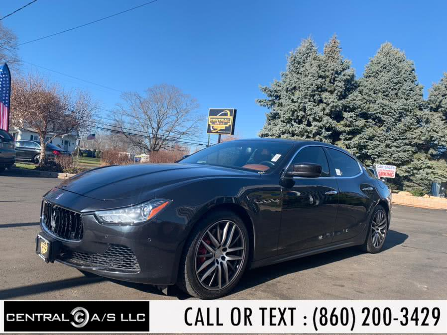 Used Maserati Ghibli 4dr Sdn S Q4 2014 | Central A/S LLC. East Windsor, Connecticut