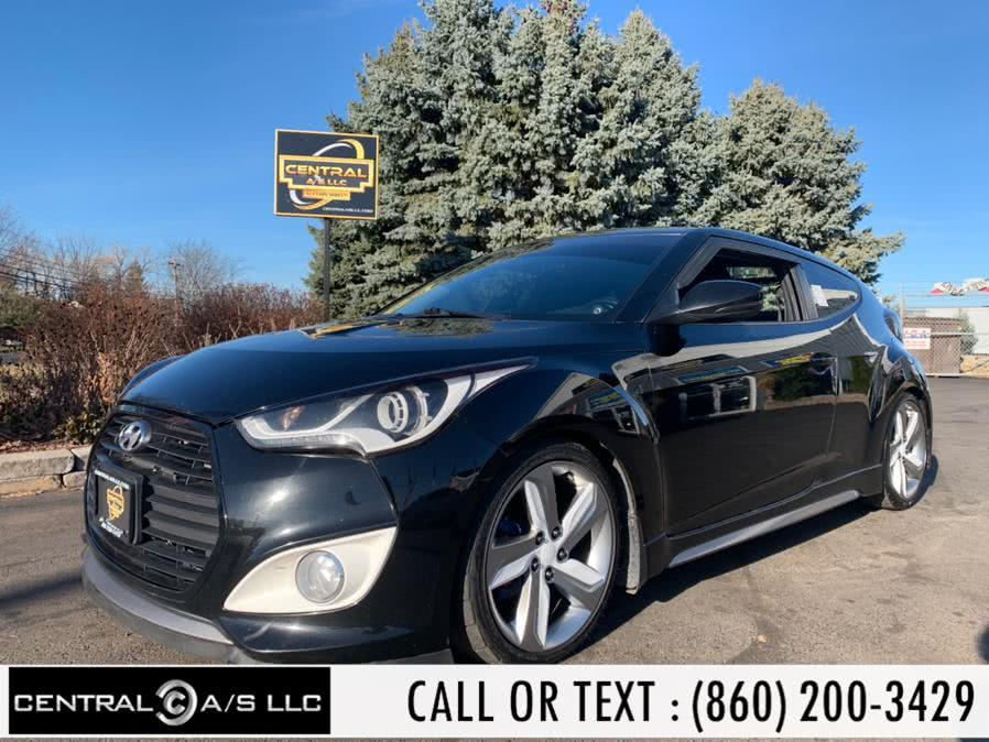 Used Hyundai Veloster 3dr Cpe Man Turbo w/Black Int 2014 | Central A/S LLC. East Windsor, Connecticut