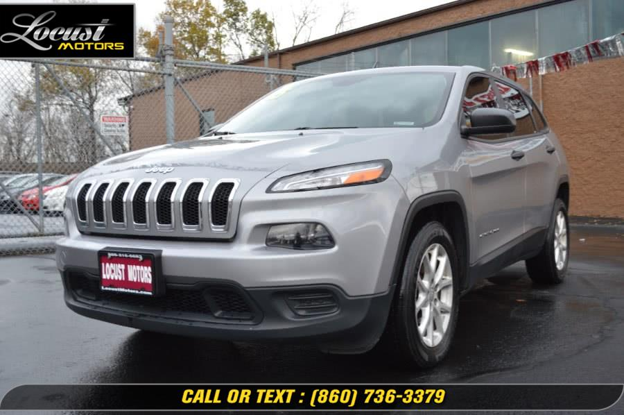 Used 2015 Jeep Cherokee in Hartford, Connecticut | Locust Motors LLC. Hartford, Connecticut