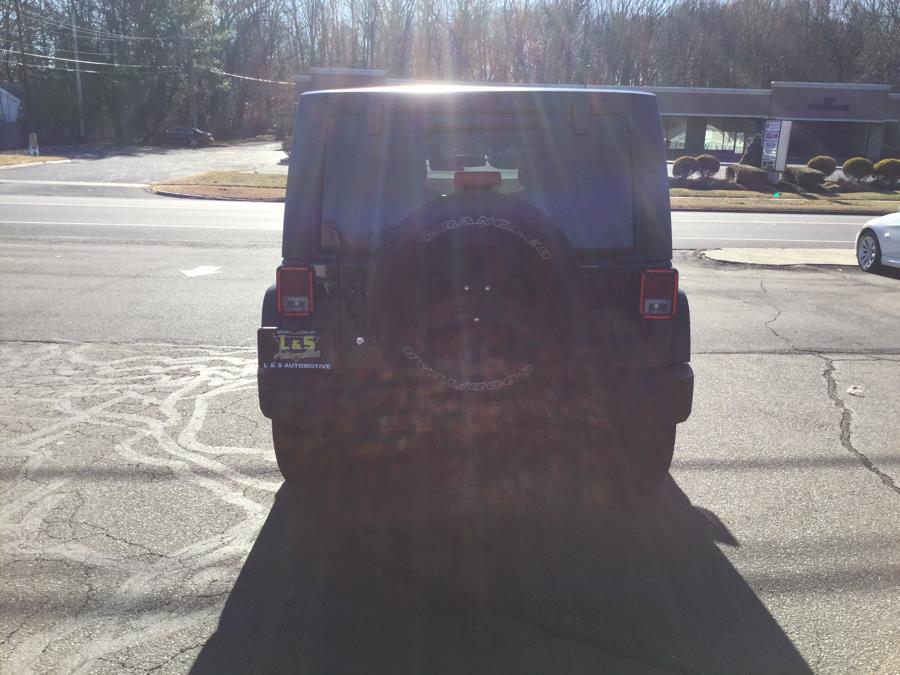 2017 Jeep Wrangler Unlimited Sport 4x4, available for sale in Plantsville, Connecticut | L&S Automotive LLC. Plantsville, Connecticut