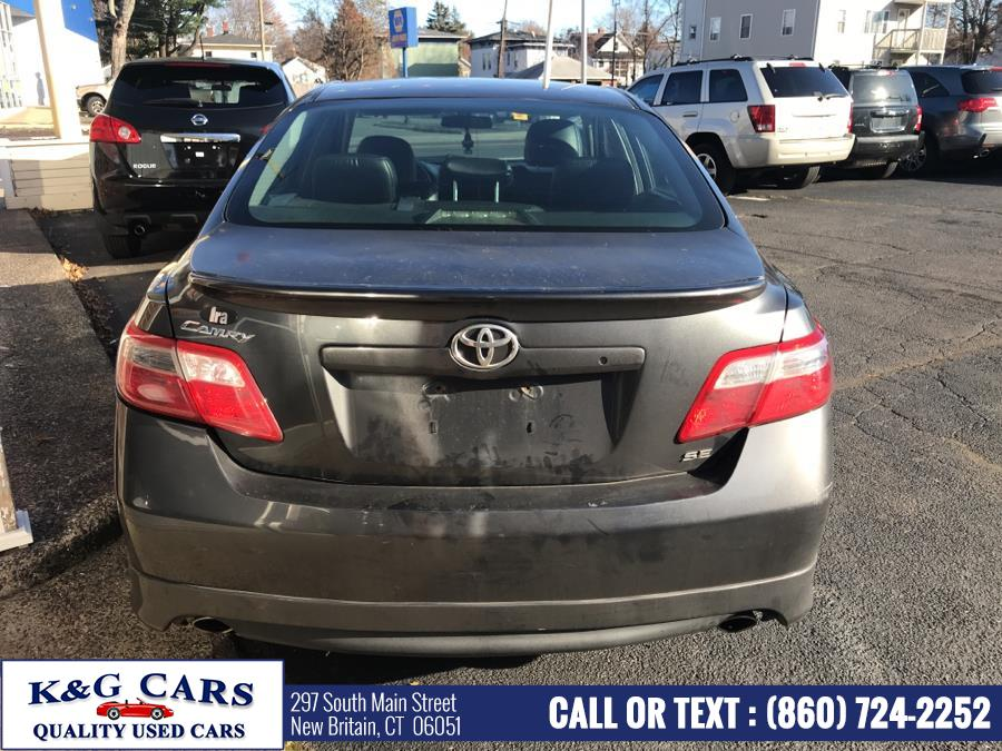 Used Toyota Camry 4dr Sdn V6 Auto SE (Natl) 2007 | K and G Cars . New Britain, Connecticut