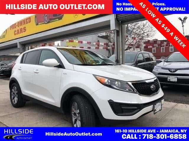 Used 2016 Kia Sportage in Jamaica, New York | Hillside Auto Outlet. Jamaica, New York