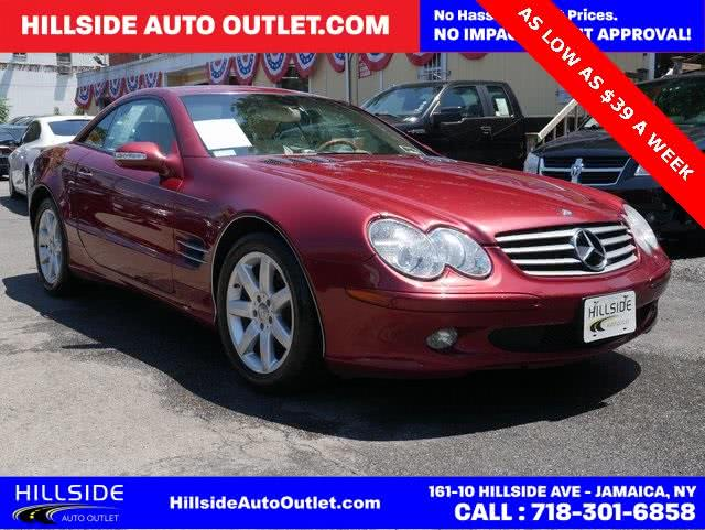 Used 2003 Mercedes-benz Sl-class in Jamaica, New York | Hillside Auto Outlet. Jamaica, New York