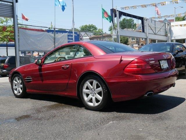 2003 Mercedes-benz Sl-class SL 500, available for sale in Jamaica, New York | Hillside Auto Outlet. Jamaica, New York
