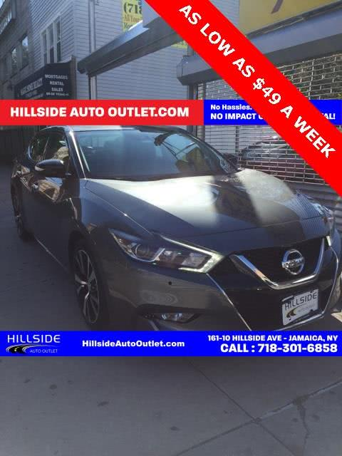 Used 2018 Nissan Maxima in Jamaica, New York | Hillside Auto Outlet. Jamaica, New York