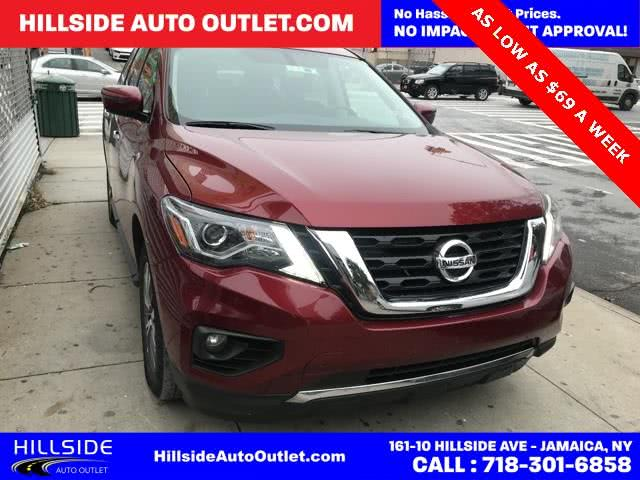 Used 2018 Nissan Pathfinder in Jamaica, New York | Hillside Auto Outlet. Jamaica, New York