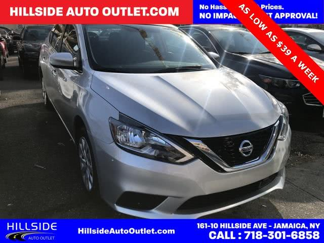 Used 2018 Nissan Sentra in Jamaica, New York | Hillside Auto Outlet. Jamaica, New York