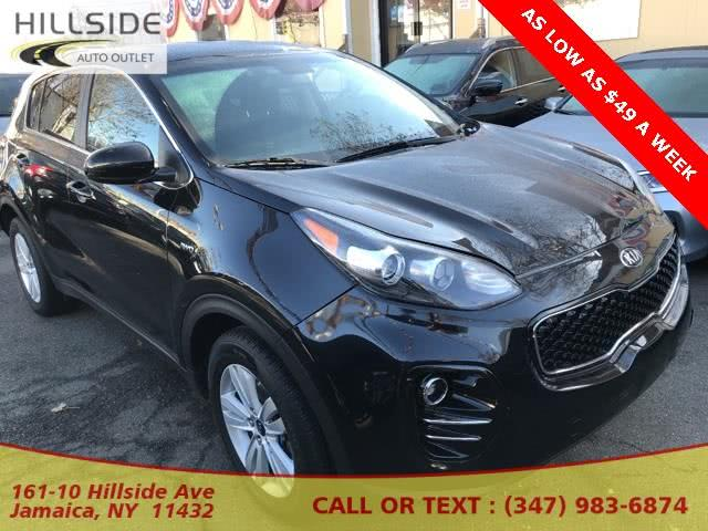 Used 2018 Kia Sportage in Jamaica, New York | Hillside Auto Outlet. Jamaica, New York