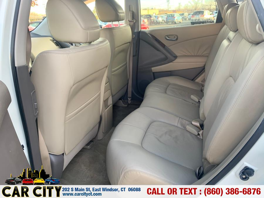 2009 Nissan Murano AWD 4dr SL, available for sale in East Windsor, Connecticut | Car City LLC. East Windsor, Connecticut