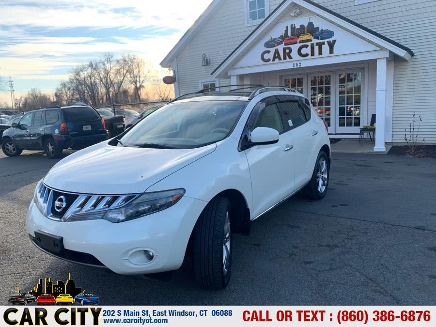 2009 Nissan Murano AWD 4dr SL, available for sale in East Windsor, CT