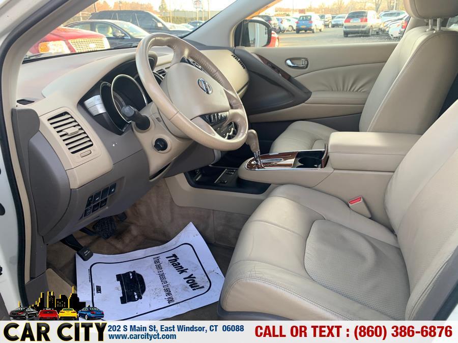 Used Nissan Murano AWD 4dr SL 2009 | Car City LLC. East Windsor, Connecticut