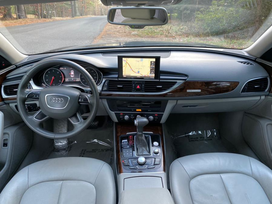 2012 Audi A6 4dr Sdn quattro 3.0T Premium Plus, available for sale in Canton , Connecticut | Bach Motor Cars. Canton , Connecticut
