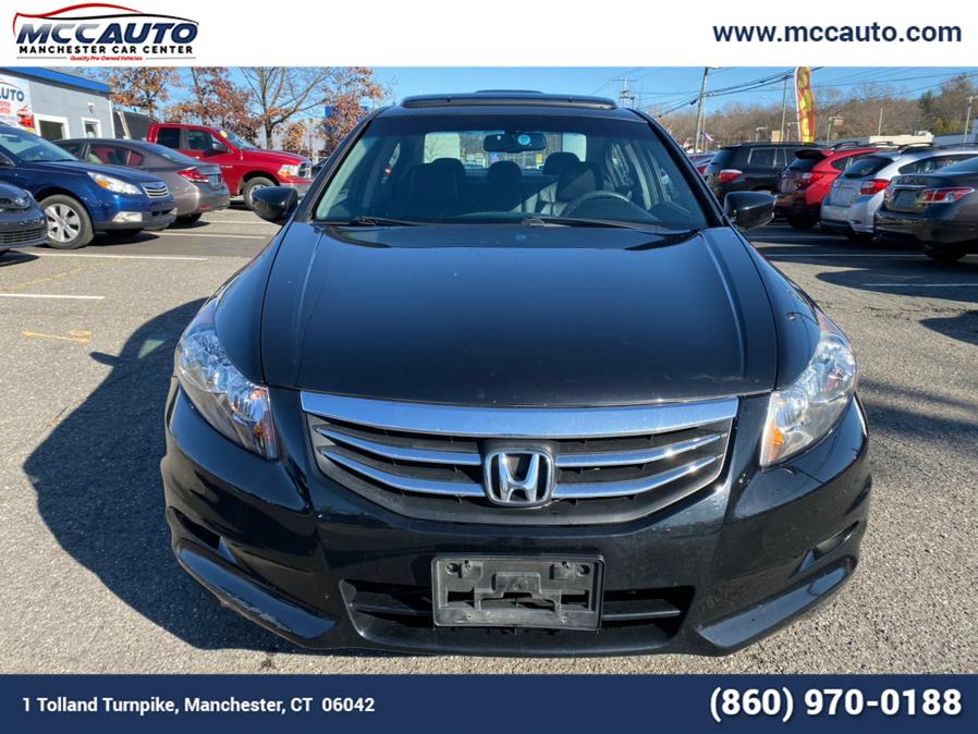 2012 Honda Accord Sdn 4dr V6 Auto EX-L, available for sale in Manchester, Connecticut | Manchester Car Center. Manchester, Connecticut