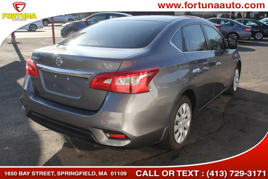 2018 Nissan Sentra SV CVT, available for sale in Springfield, Massachusetts | Fortuna Auto Sales Inc.. Springfield, Massachusetts