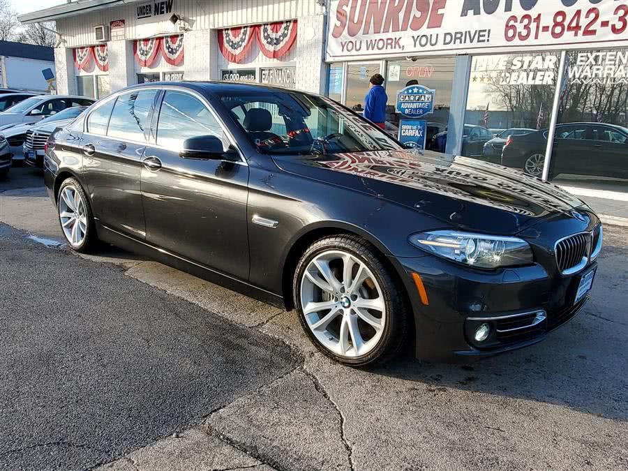 Used 2016 BMW 5 Series in Amityville, New York | Sunrise Auto Outlet. Amityville, New York