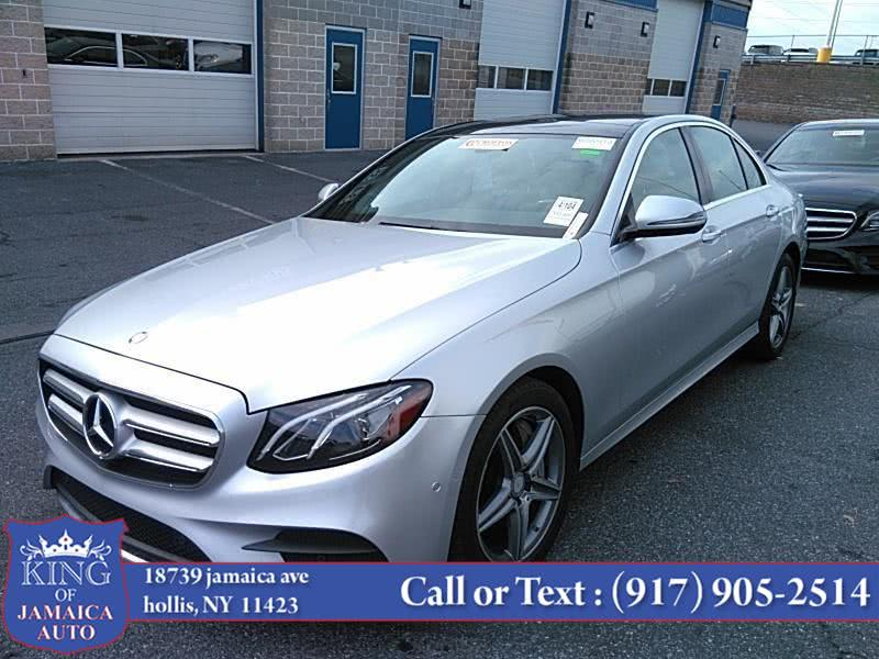 Used 2017 Mercedes-Benz E-Class in Hollis, New York | King of Jamaica Auto Inc. Hollis, New York