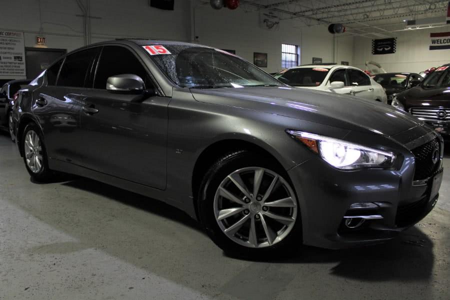 Used 2015 INFINITI Q50 in Deer Park, New York   Car Tec Enterprise Leasing & Sales LLC. Deer Park, New York
