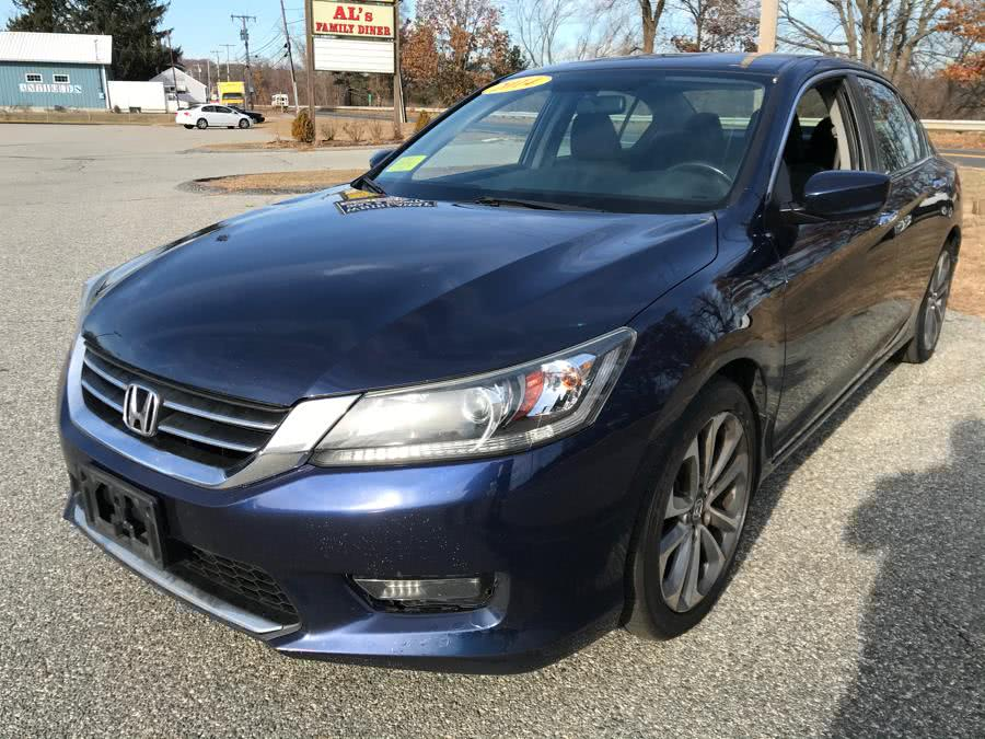Used 2014 Honda Accord Sedan in Methuen, Massachusetts | Danny's Auto Sales. Methuen, Massachusetts