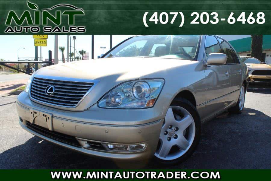 Used 2005 Lexus LS 430 in Orlando, Florida | Mint Auto Sales. Orlando, Florida