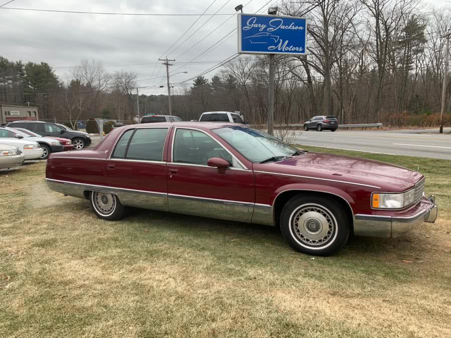 Used 1994 Cadillac Fleetwood in Charlton, Massachusetts   Gary Jackson Motors. Charlton, Massachusetts